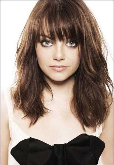 hairstyle with a few bangs 17 best ideas about haircuts with bangs on pinterest bob