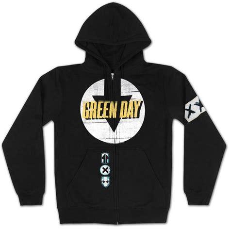 Hoodie Zipper Green Day Black green day bandit zip hoodie