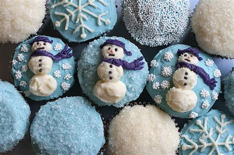 Winter Cupcakes Decorating Ideas by Cupcakes Decorated That You Can