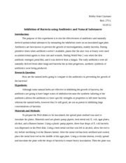 microbiology lab report template microbiology lab reports