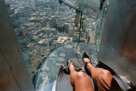 glass slide skyscraper new l a skyscraper slide causes woman injury lawsuit