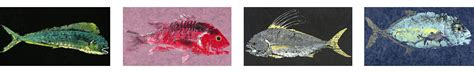 a among fishes the of gyotaku books captain warren sellers sportfishing captain