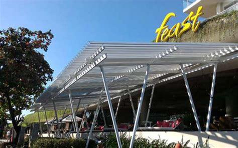 Design Kanopi Cafe | desain kanopi rumah yang indah sunlouvre atap