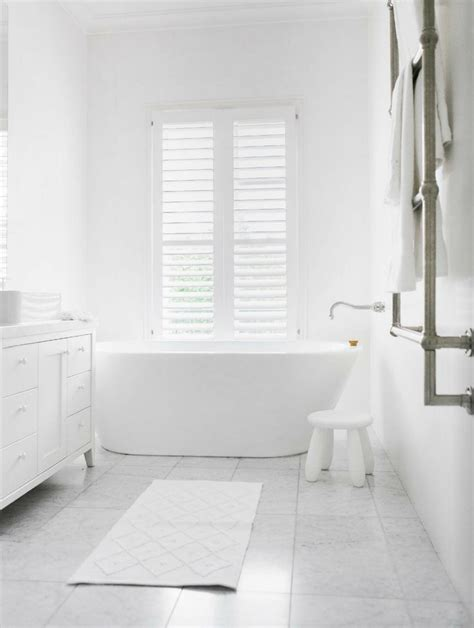 White Ideas by All White Bathroom Ideas Decorating Ideas For All White