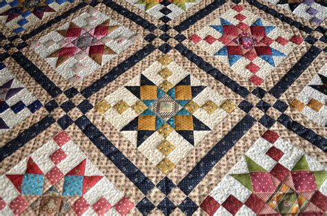 Country Quilt by Sew N Oaks Quilting Country Charmer Quilt Along