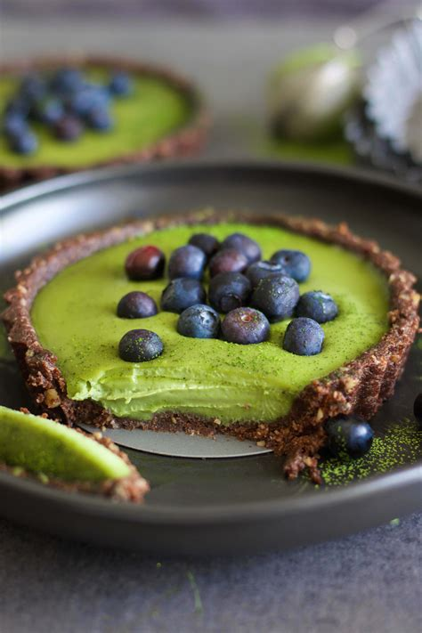 Choco Crust Matcha matcha with chocolate crust le creations