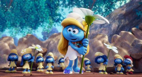 smurfs the lost look at fully animated smurfs the lost