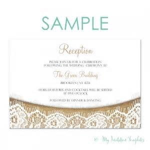 reception invitation sles archives my invitation templates for diy printable