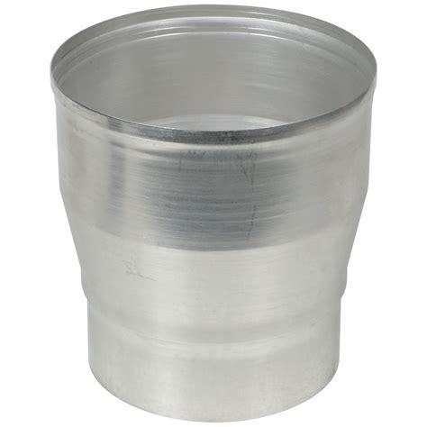 afvoerbuis afzuigkap karwei verloopstuk vergroot aluminium 130 x 150 mm