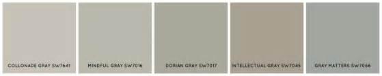 Sherwin Williams 7641 Sherwin Williams 7641 Collonade Gray Paint Colors