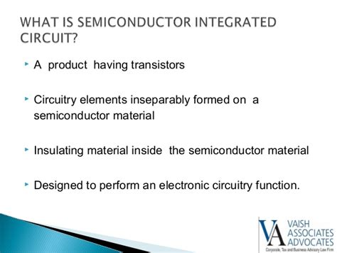 semiconductor integrated circuits layout design act 2000 ppt law of integrated circuits and layout dseign in india
