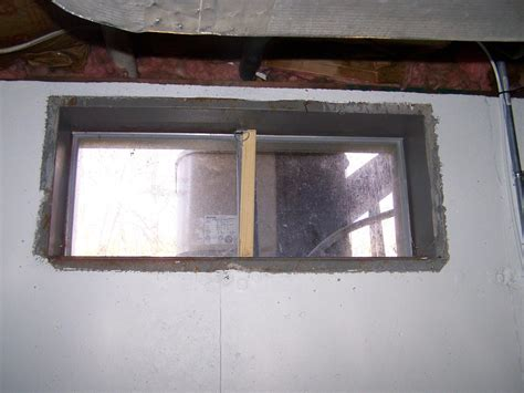 Old Basement Window In Windsor Locks Ct Framing Basement Windows