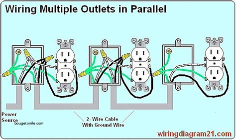 how do you wire a house how to wire a multiple outlet free download wiring diagrams schematics