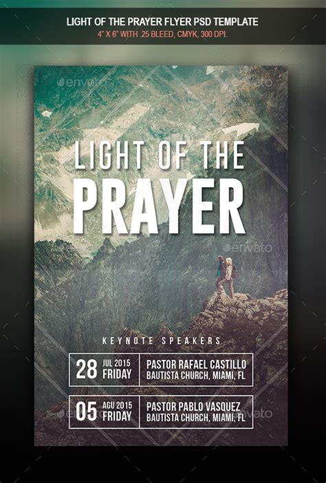 Prayer Breakfast Format 187 Dondrup Com Prayer Flyer Template