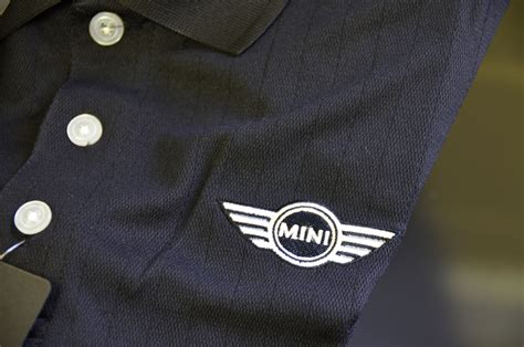 Polo Shirt Mini Cooper Logo 1 by Mini Cooper Wings 3 Button Logo Polor Shirt Mens