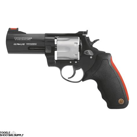 Revolver Taurus Ultra Light 380 taurus 444 ultralight 44 mag revolver black titanium