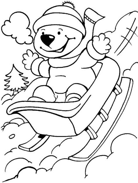 kawaii winter coloring book a winter coloring book for adults and kawaii characters chibi winter and activities books winter hat coloring pages page image clipart images