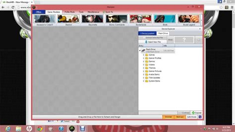 pc game mod tools how to download and use horizon xbox 360 modding tool usb