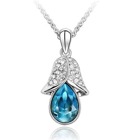 beautiful bell shaped womens necklace 163 50 uk