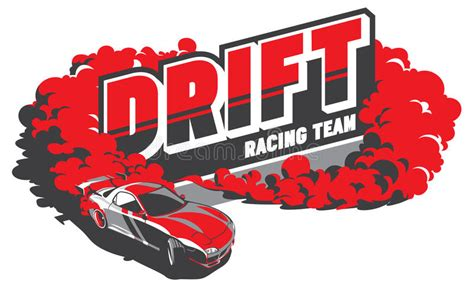 Tuning Sticker Vector by Burnout Car Japanese Drift Sport Racing Stock