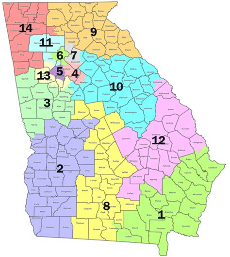 georgia house districts georgia congressional district map quotes