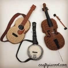 amigurumi guitar pattern free gretsch white falcon in crochet a fantastic guitar