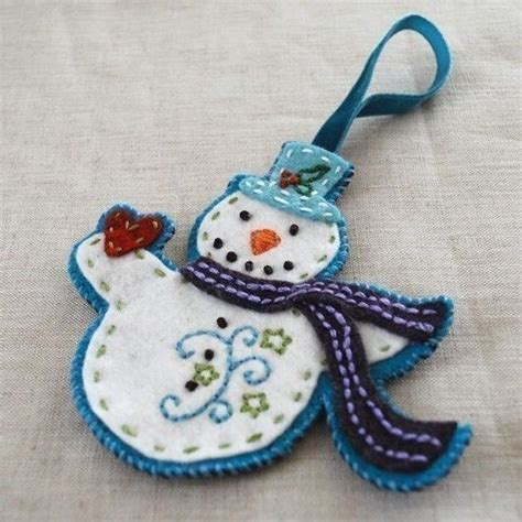 commercial use felt christmas ornaments pdf pattern