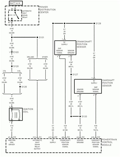 1998 jeep grand pcm wiring diagram ewiring