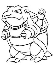 blastoise coloring page blastoise free colouring pages