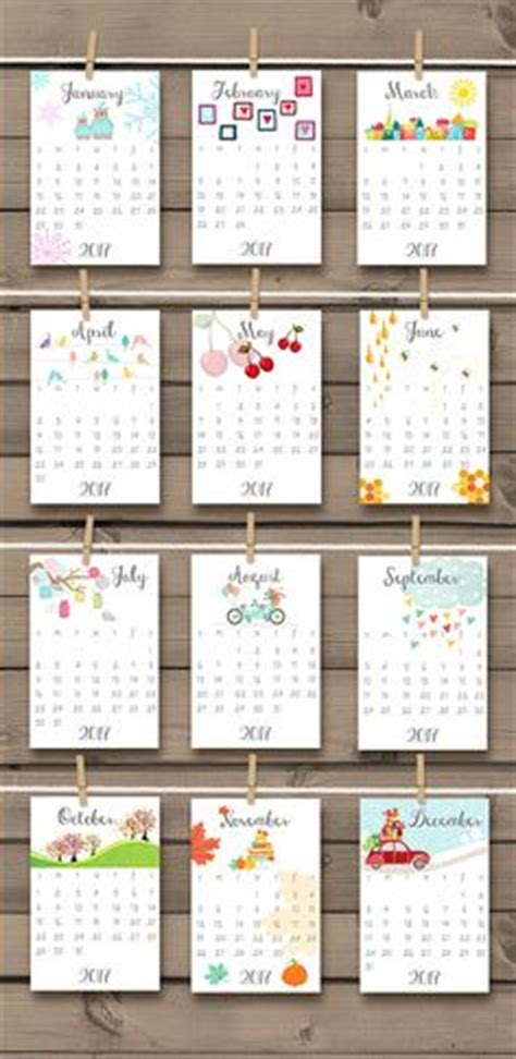 18 month desk calendar free printable 2017 mini calendar watercolour calendar