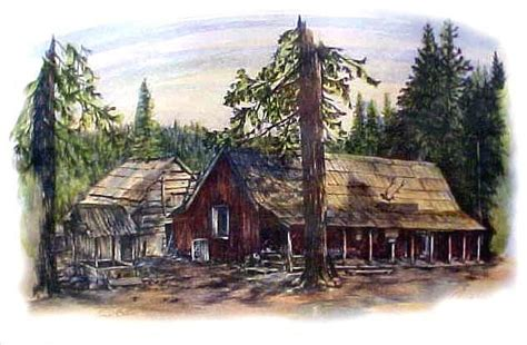 tom s cabin drawing by jonni hill