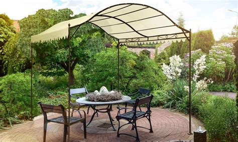 gazebo cupola gazebo a cupola da giardino groupon