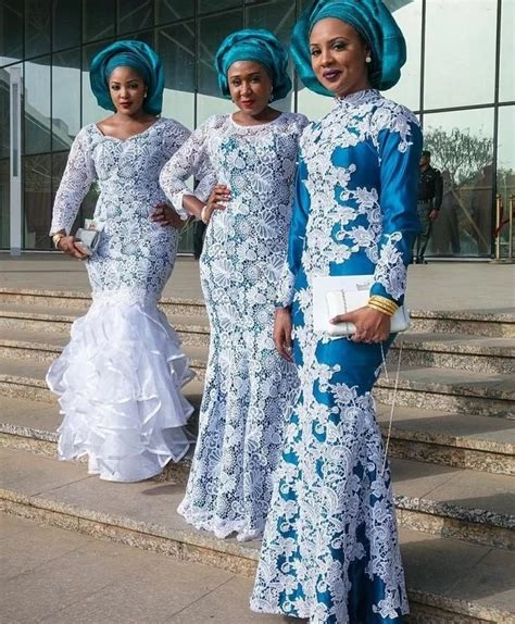 nigerian wedding colour in 2016 checkout these latest nigerian aso ebi styles 2017 2018