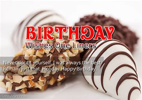 Happy Birthday Wishes One Liners   Birthday Quotes