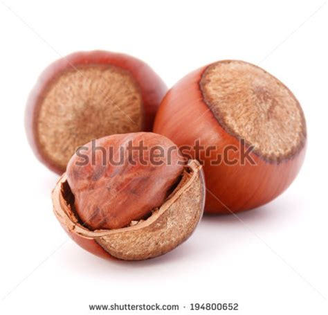 Lucky Hazelnut Kernel 125gr nutshell stock photos images pictures