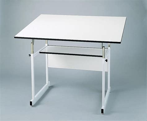 Alvin Workmaster Adjustable Drafting Table Alvin Workmaster Jr Drafting Table Drawing Table Work Master 4 Post Drawing Tables 36x48 Top