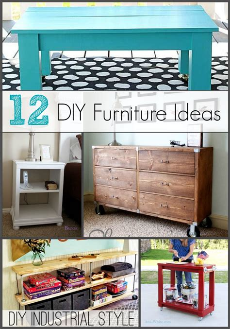 diy furniture ideas the shabby creek cottage