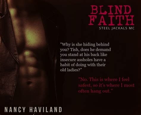 blind devotion books blind faith tour author nancy haviland the
