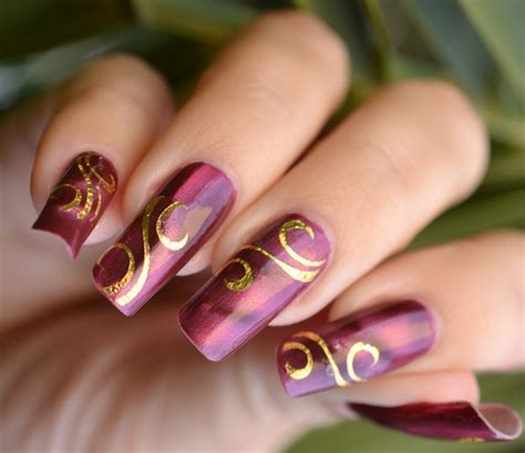 nail design for new year 2013 creative fashion new year nail designs 2013