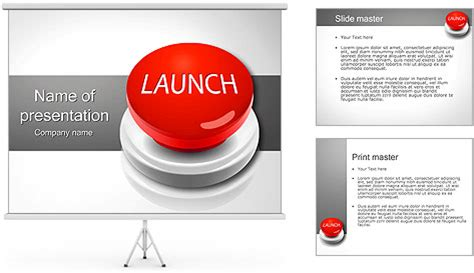 powerpoint layout button launch button powerpoint template backgrounds id