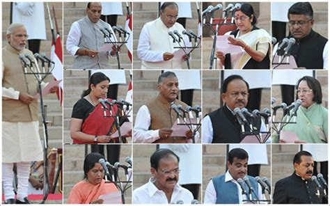 Modi New Cabinet Ministers by Modi S Cabinet The Official List