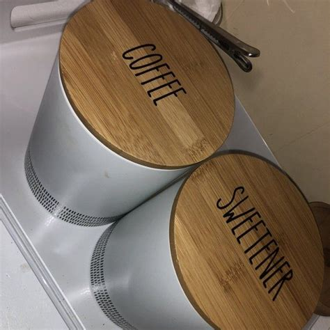 kitchen canister labelskitchen canister decalspantry