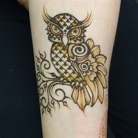 owl henna tattoo 25 best ideas about henna animals on animal