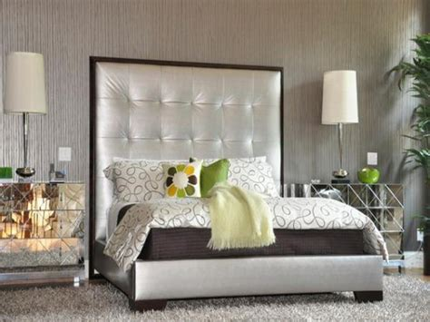 tall upholstered headboard silver bed with a tall tufted upholstered headboards stroovi