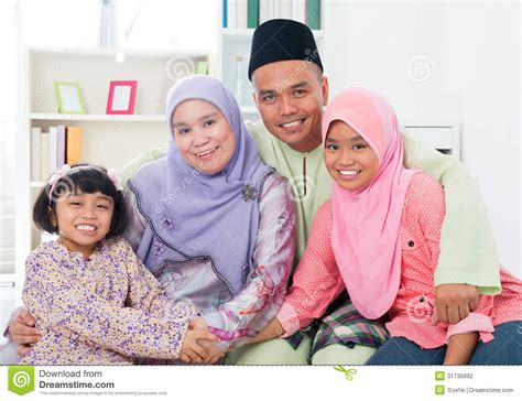 happy asian family at home stock photography image