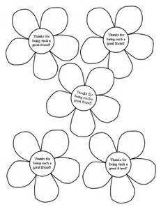 friendship flower template memorizing the moments may day baskets