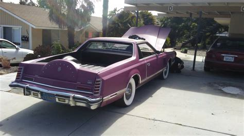 lincoln trucks pink 1979 lincoln v conversion truck day