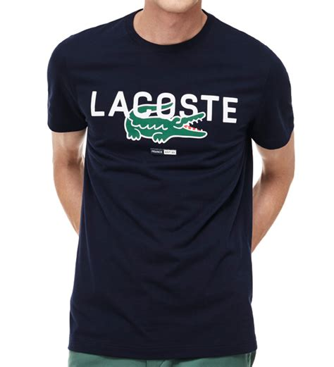 tshirt lacoste 01 lacoste oversize croc logo t shirt from coneys