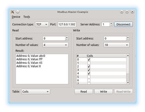 qt rs232 tutorial modbus master exle qt serial bus 5 10