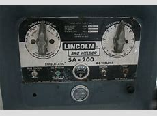 Sa-200-F163 200 amp lincoln arc welder, trailer & cover F163 Engine